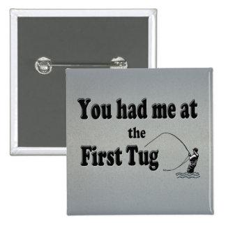 El Flyfishing ¡Usted me tenía en el primer tirón Pin