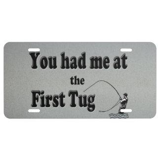 El Flyfishing ¡Usted me tenía en el primer tirón