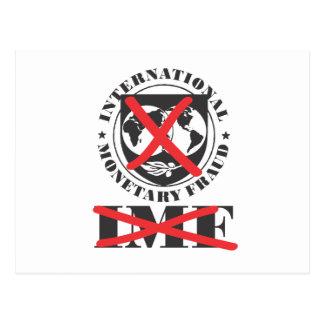El FMI - el FMI anti - fraude monetario Postales