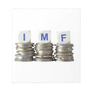 El FMI - Fondo Monetario Internacional Blocs De Papel