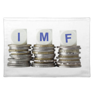 El FMI - Fondo Monetario Internacional Manteles Individuales