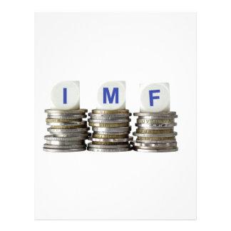 El FMI - Fondo Monetario Internacional Membrete A Diseño