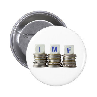 El FMI - Fondo Monetario Internacional Pin Redondo 5 Cm