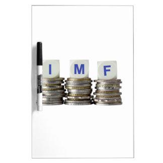 El FMI - Fondo Monetario Internacional Pizarras Blancas