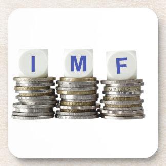 El FMI - Fondo Monetario Internacional Posavasos De Bebidas
