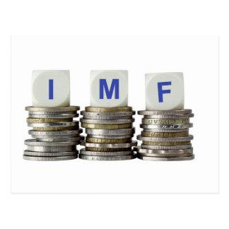 El FMI - Fondo Monetario Internacional Tarjetas Postales