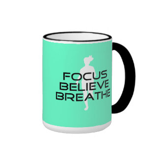 El foco cree respira taza a dos colores