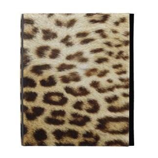 El folio del iPad del leopardo cabe todos los mode