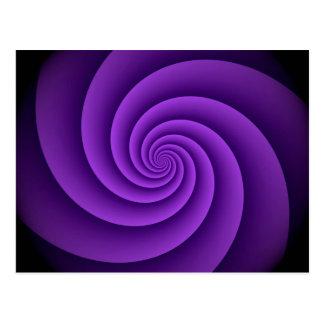 El fondo abstracto tuerce en espiral suavemente IV Tarjetas Postales