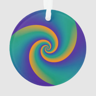El fondo abstracto tuerce en espiral V suave