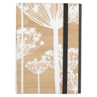 El fondo de madera florece moda femenina del estam