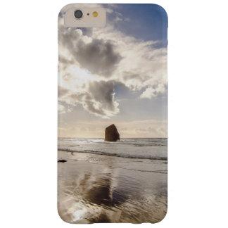 El fondo temático, océano retrocede yéndose funda barely there iPhone 6 plus