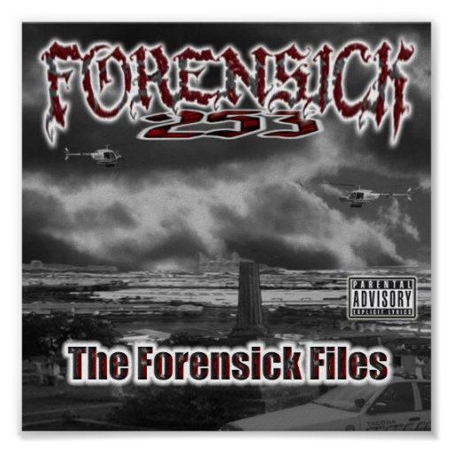 El Forensick archiva el poster