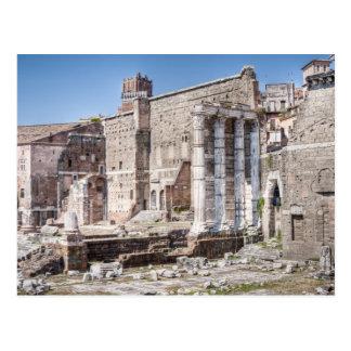 El foro de Augustus es uno de los 3 imperiales Postal