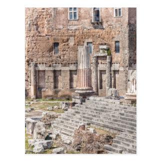 El foro de Augustus es uno de los 4 imperiales Postales