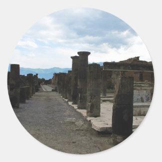 El FORO DE POMPEYA - fragmentos de la columna Pegatina Redonda