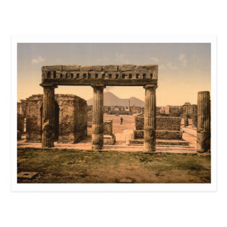 El foro, Pompeya, Campania, Italia Postal