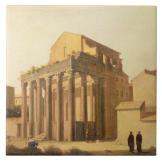 El foro, Roma Azulejo Cuadrado Grande