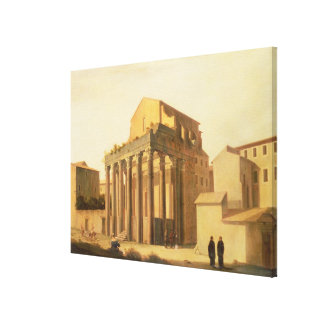El foro, Roma Lienzo Envuelto Para Galerías