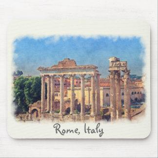 El foro romano arruina Mousepad