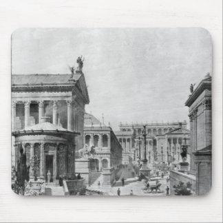 El foro romano de Antiquity, 1914 Mousepad