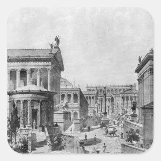 El foro romano de Antiquity, 1914