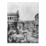 El foro romano de Antiquity, 1914 Tarjeta Postal