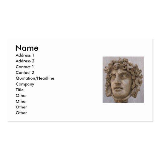 El foro romano tarjeta de visita