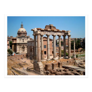 El foro romano tarjeta postal