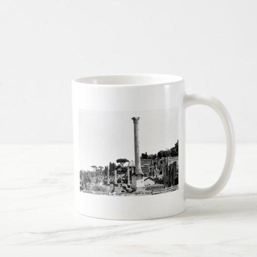 El foro romano tazas de café