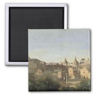 El foro visto de los jardines de Farnese Imán Cuadrado