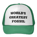 El fósil más grande del mundo gorros bordados