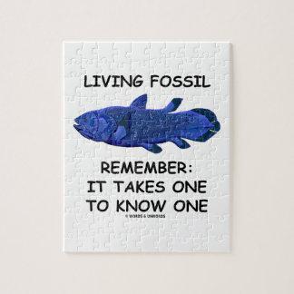 El fósil vivo recuerda: Toma uno para conocer uno Rompecabezas Con Fotos