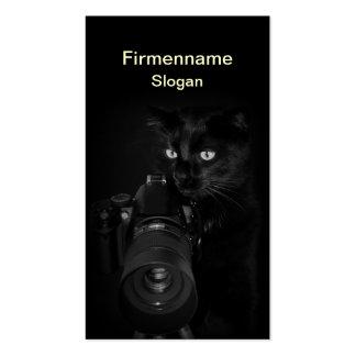 El fotógrafo - presentación de tarjeta de presenta plantilla de tarjeta de visita