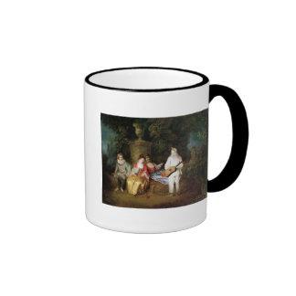 El Foursome, c.1713 Taza De Café