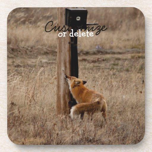 El Fox ama a poste para uso general; Posavaso
