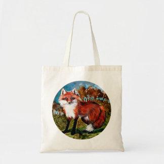 El Fox Foxes el bolso de los animales de la fauna Bolsa De Mano