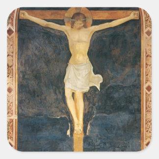 El Fra Angelico- crucificó a Cristo Colcomanias Cuadradass