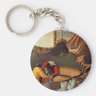 El Fra Angelico- San Nicolás ahorra la nave Llavero Personalizado