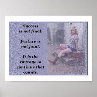 El fracaso no es fatal póster