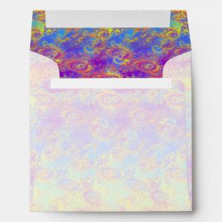 El fractal brillante del remolino modela el arco sobre