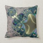 El fractal colorea el arte ninguna almohada de tir