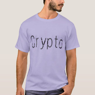 El fractal Crypto de Cryptocurrency pone letras a Playera