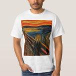 El fractal del grito que pinta a Edvard Munch Camisas