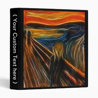 El fractal del grito que pinta a Edvard Munch