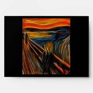 El fractal del grito que pinta a Edvard Munch Sobre