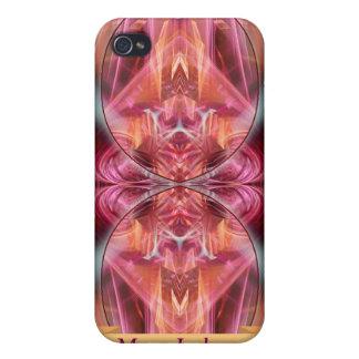 El fractal susurra con el iPhone 4 de Speck® del a iPhone 4 Carcasas