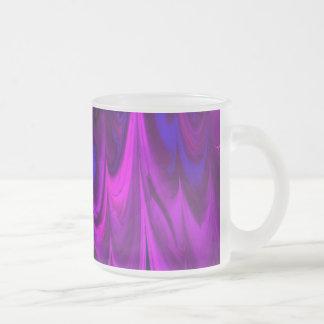 el fractal veteó 13 (l) taza cristal mate