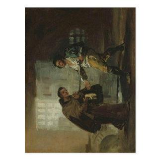 El fraile Pedro de Francisco de Goya y Lucientes o Tarjeta Postal