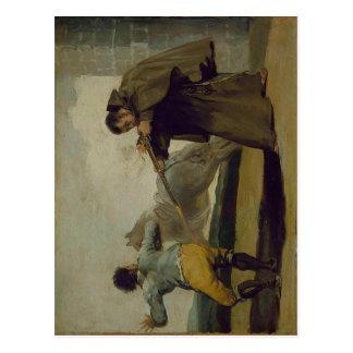 El fraile Pedro de Francisco de Goya y Lucientes t Postal